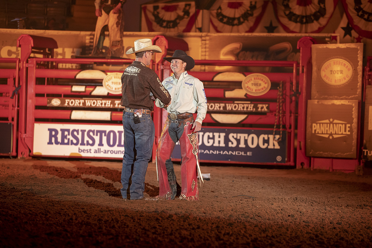 Tuff Hedeman welcomes Trey Benton to the Tuff Hedeman Bull Riding Tour.