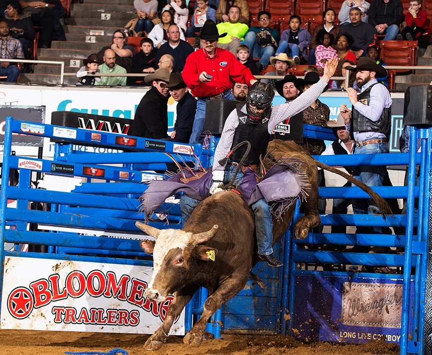 Cajun Cowboy Dustin Boquet of Bourg, Louisiana qualifies for his first National Finals Rodeo