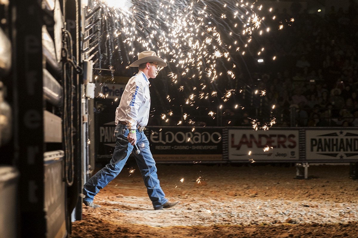Tuff Hedeman Returns to Bossier with his signature 3 round 24 man Invitation only bull riding