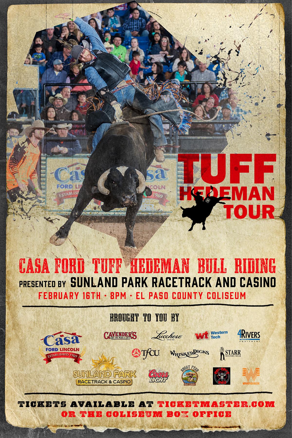 Casa Ford El Paso Tx >> Tuff Hedeman Bull Riding Tour El Paso Tx Tuff Hedeman