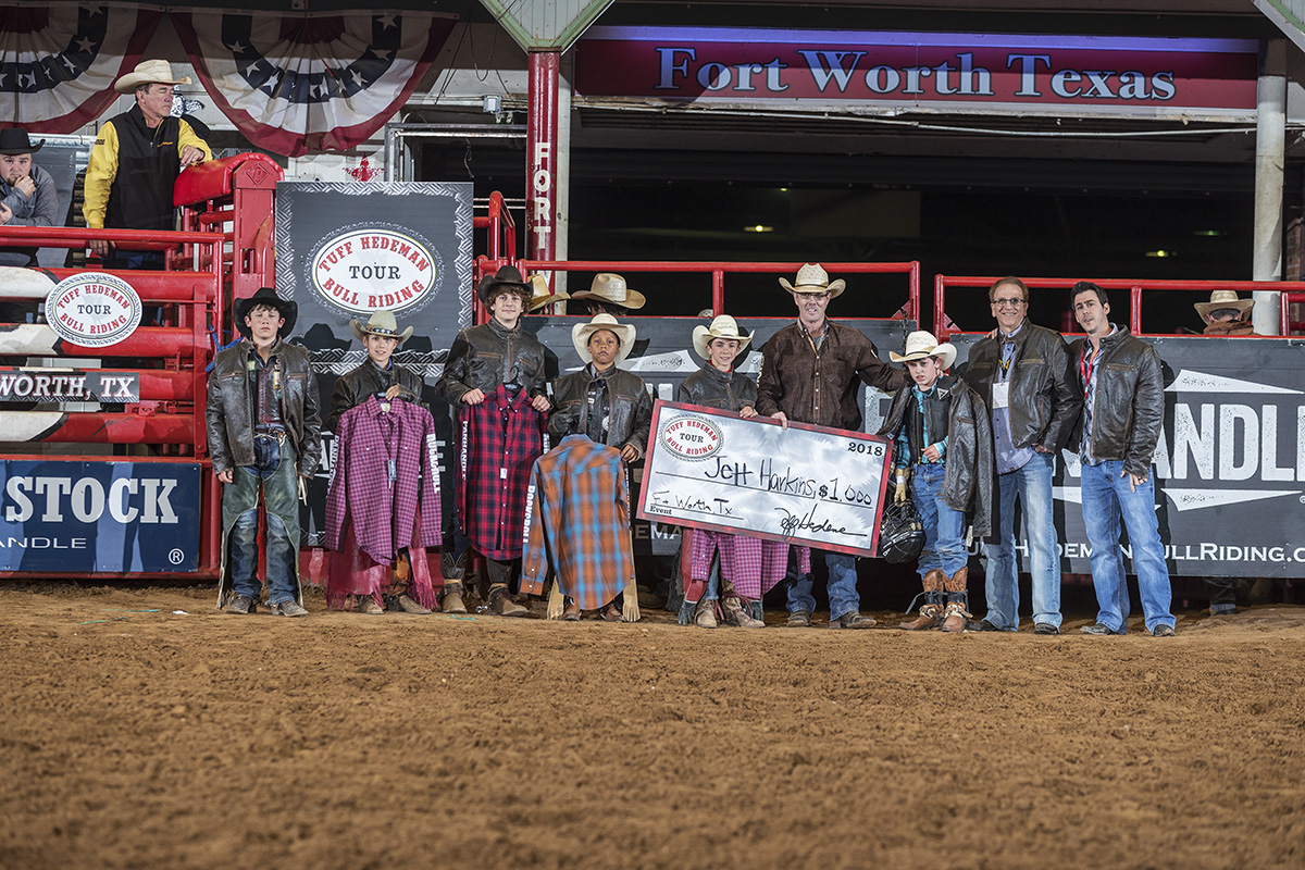 2018 Winner Jett Harkins returns to the Tuff Hedeman Cripple Creek Challenge to defend his title Saturday night at Cowtown Coliseum.
