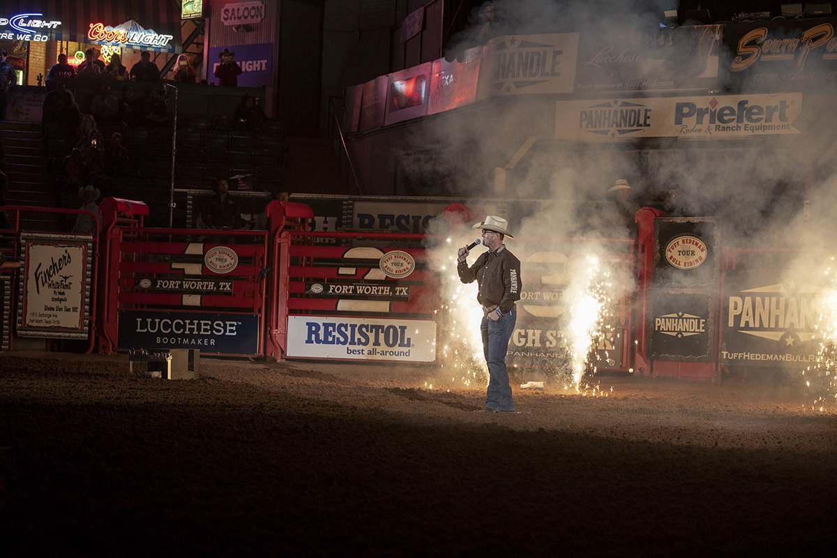 """This event is like coming home for me,"" - Tuff Hedeman. The Tuff Hedeman Fort Worth Challenge is the birthplace of stand-alone bull riding and is in its 27th consecutive year."