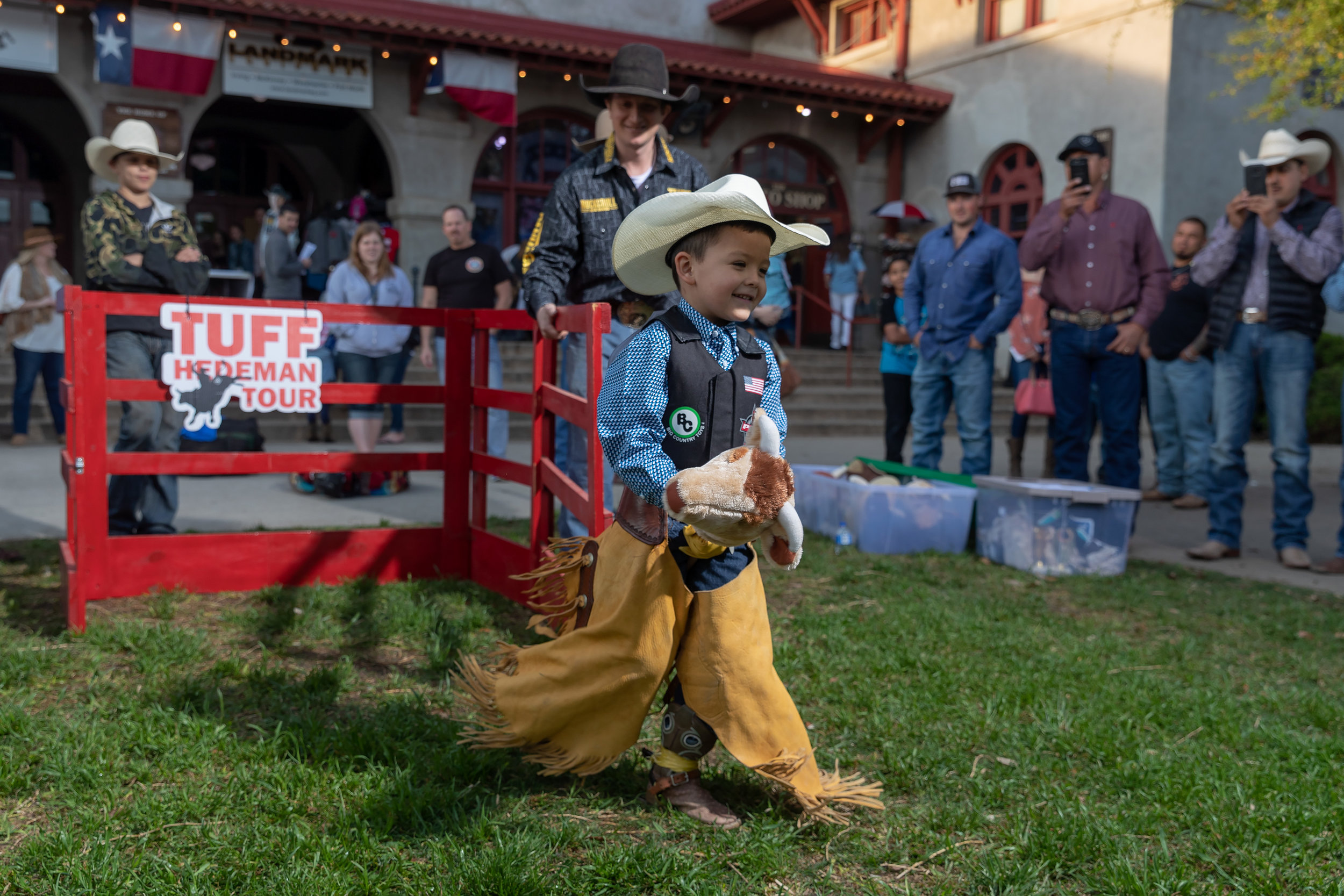 Ivan Leyva, Jr. was the winner of the Stick Bull Riding contest, a fan favorite in Fort Worth