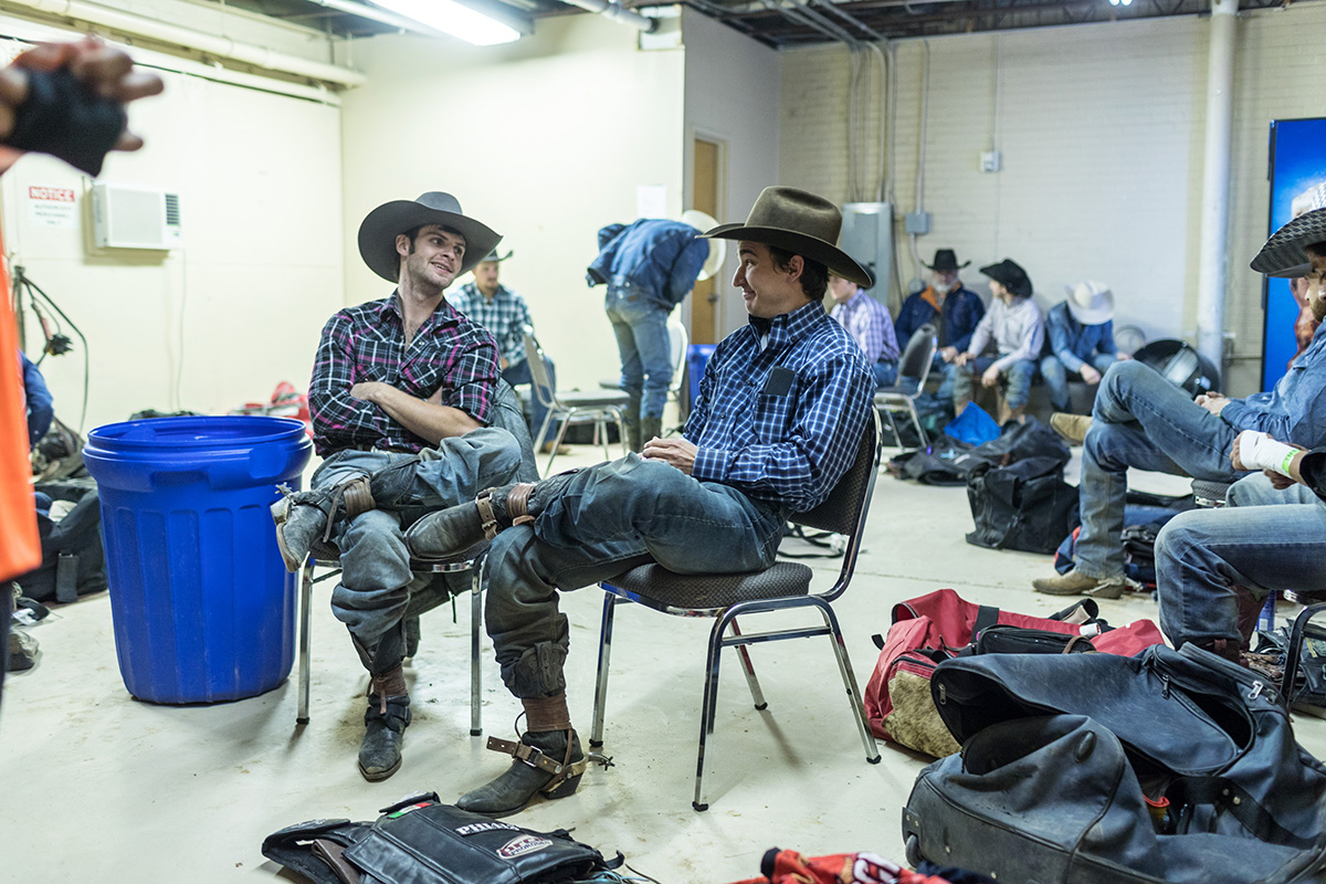 Rostockyj, a leader in the locker room, was tapped by the PRCA to serve as bull riding director in April of 2019.