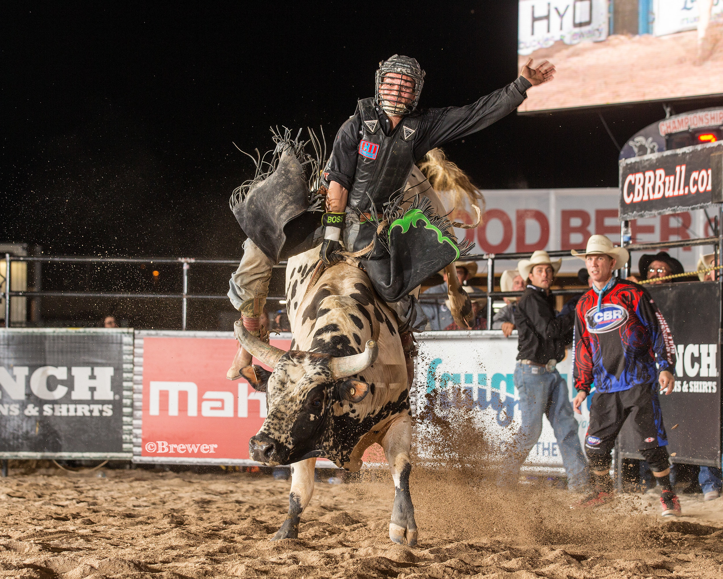 Cody Rostockyj won and lost money on a bull he feuded with frequently - J908 Outside the Box.