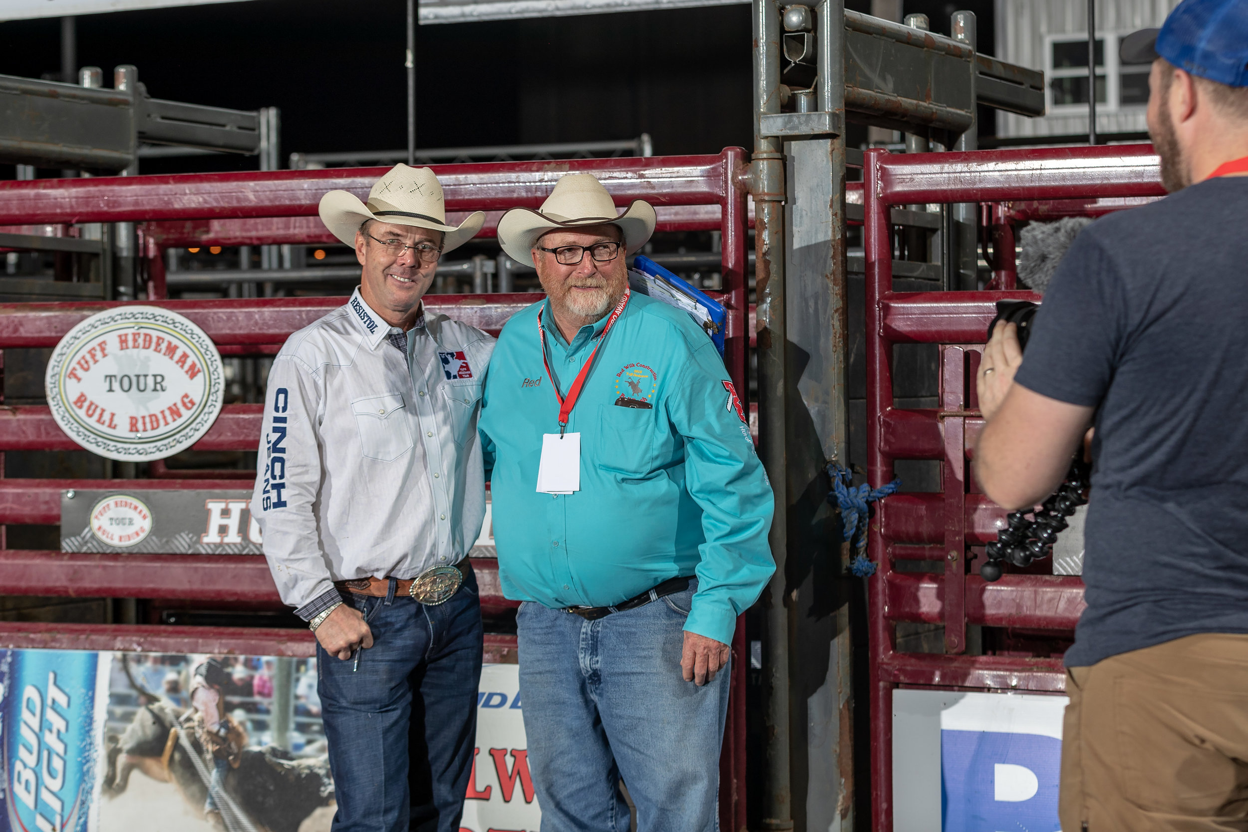 Tuff Hedeman and Red Wilk