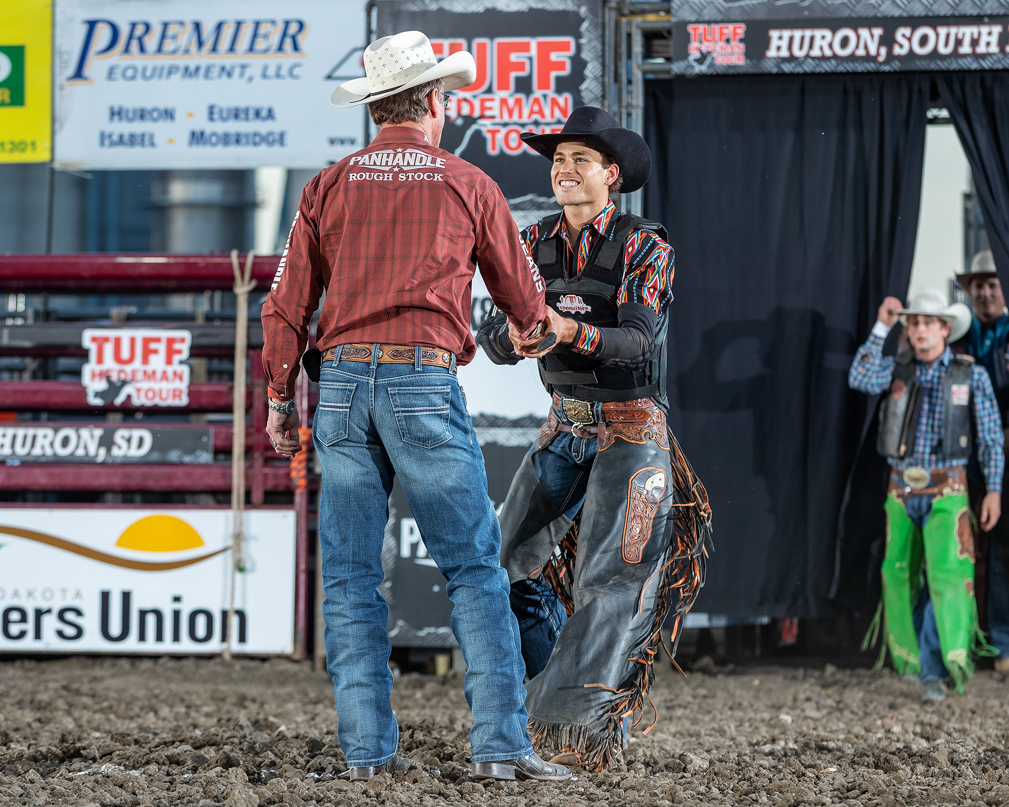 Tuff Hedeman welcomes Albert Lebaron, leader of the Wicked Rank Midwest Swing Series