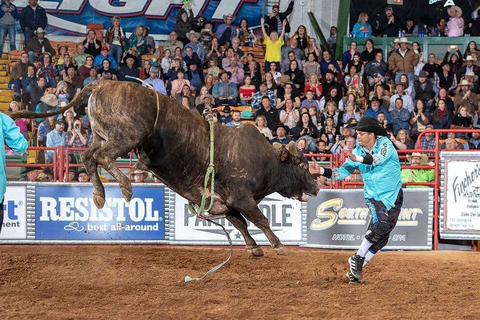 Bullfighter Extraordinaire Bryce Redo will be in town early and invites everyone to come out to Sadler's Kitchen. Photo by Todd Brewer