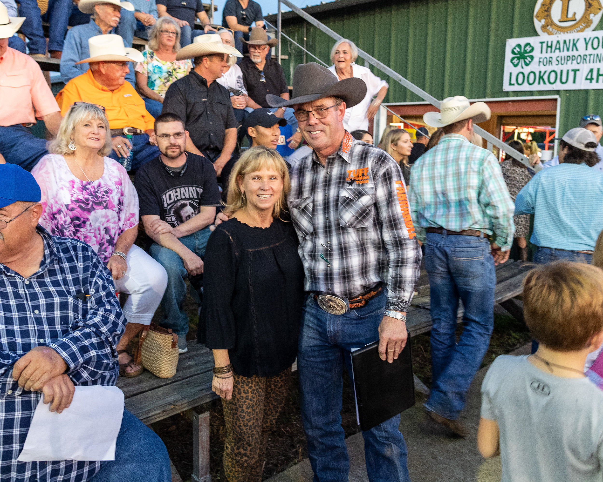 Beverly Wheeler and Tuff Hedeman