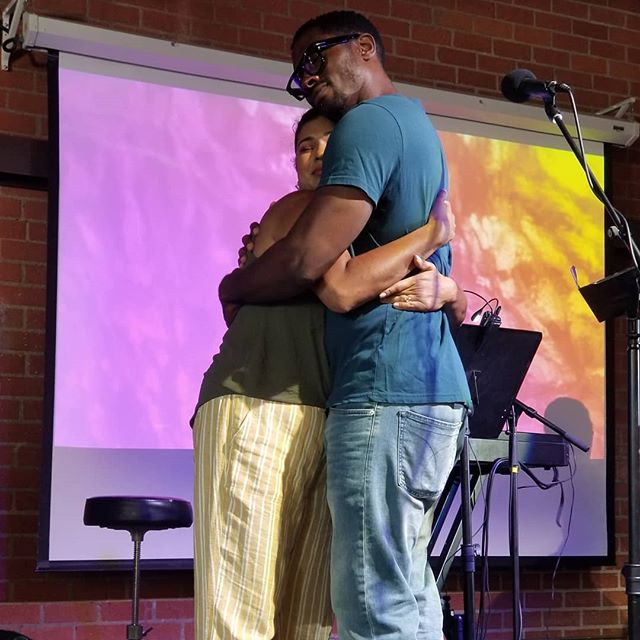 """One thing you'll notice about Mid-City Vineyard is how much everyone loves each other. """"Everyone needs a place where they belong."""" #love #belonging #community #church #losangeles"""