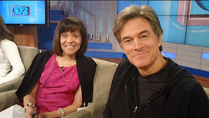 Dr. Wade with Dr. Oz