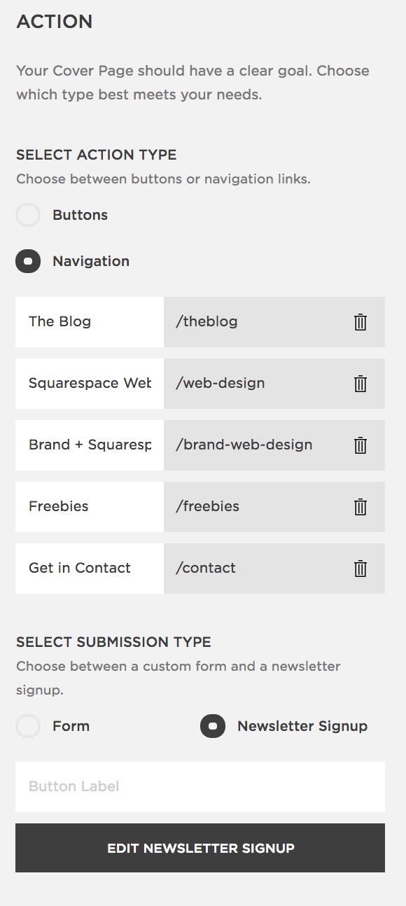 Easy hack to create a customized bio link for Instagram through Squarespace-action.png