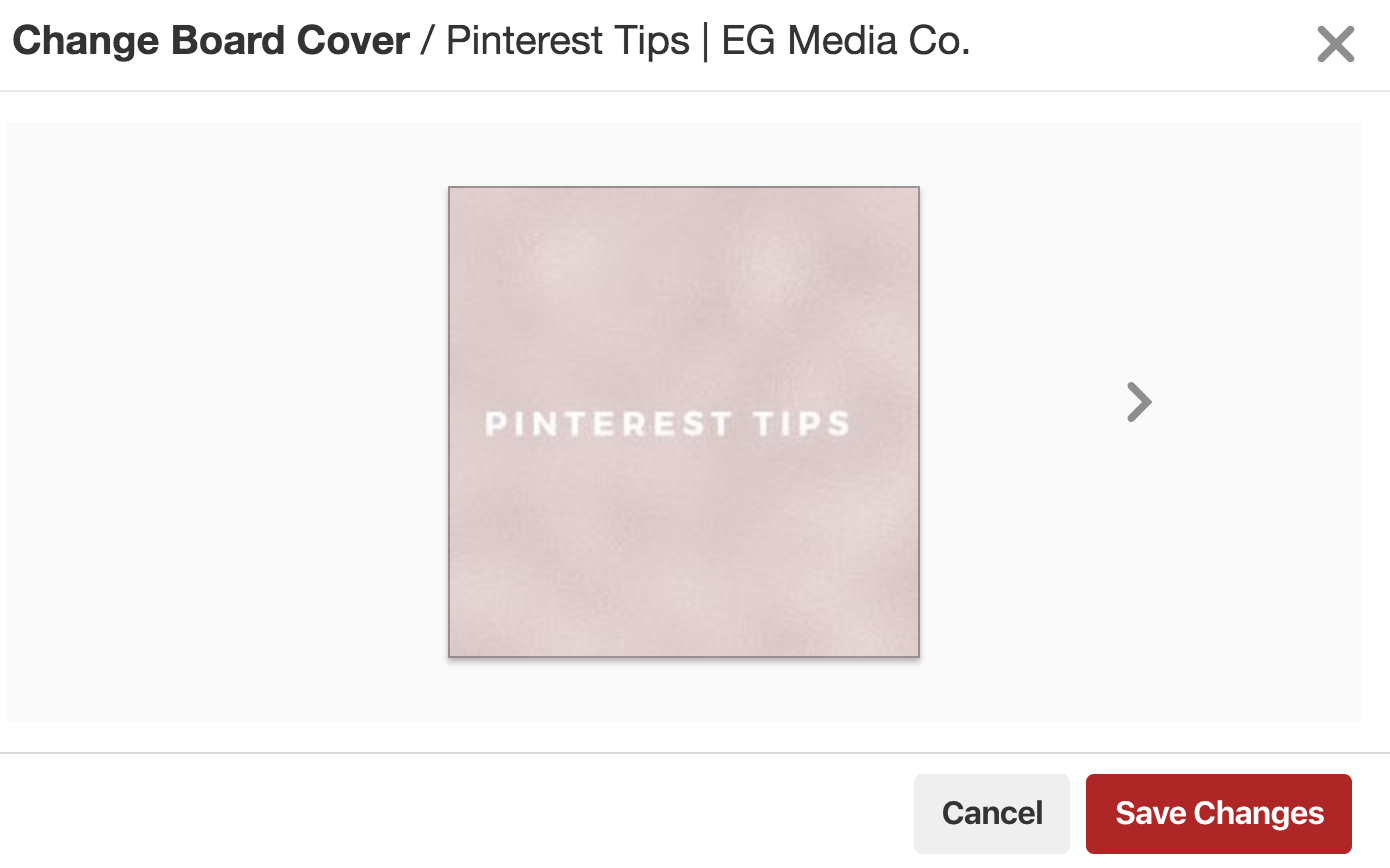 How to add Pinterest board covers to your Pinterest account by EG Media Co. | Pinterest Board Covers, Pinterest Tips, Pinterest Board, Social Media Tips, Canva, DIY, Pinterest Boards