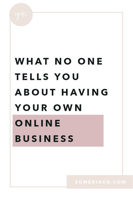 What no one tells you about having your own online business by EG Media Co | online business, laptop lifestyle, online business owner, small business owner, digital nomad, girl boss life, girltribe, bucketlist bombshells
