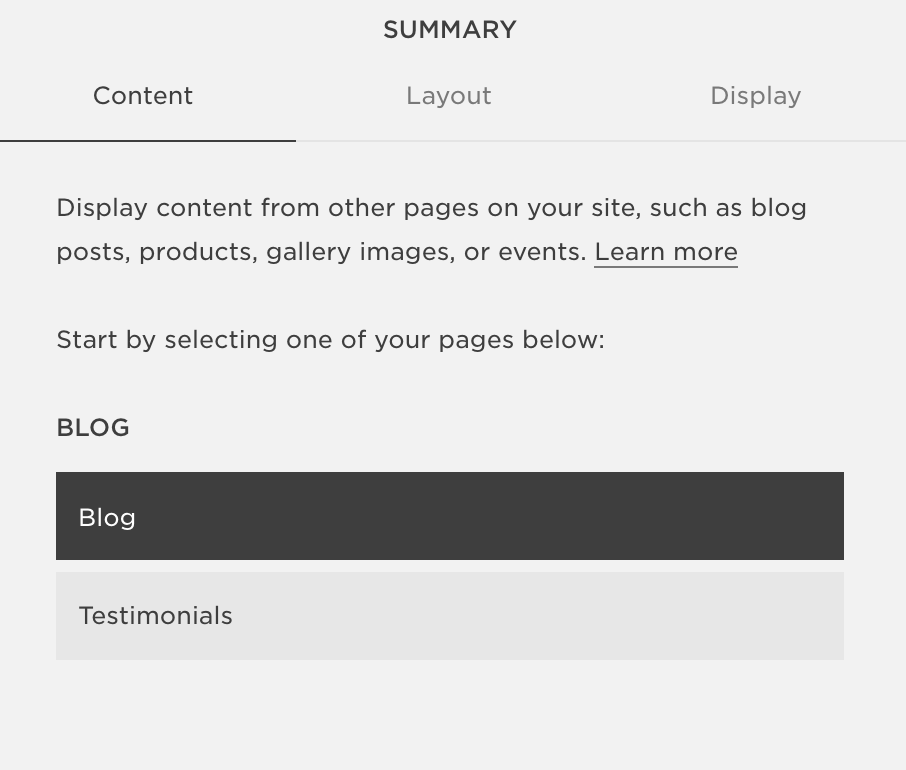 "How to add ""related posts"" at the bottom of your blog on Squarespace by EG Media Co. 