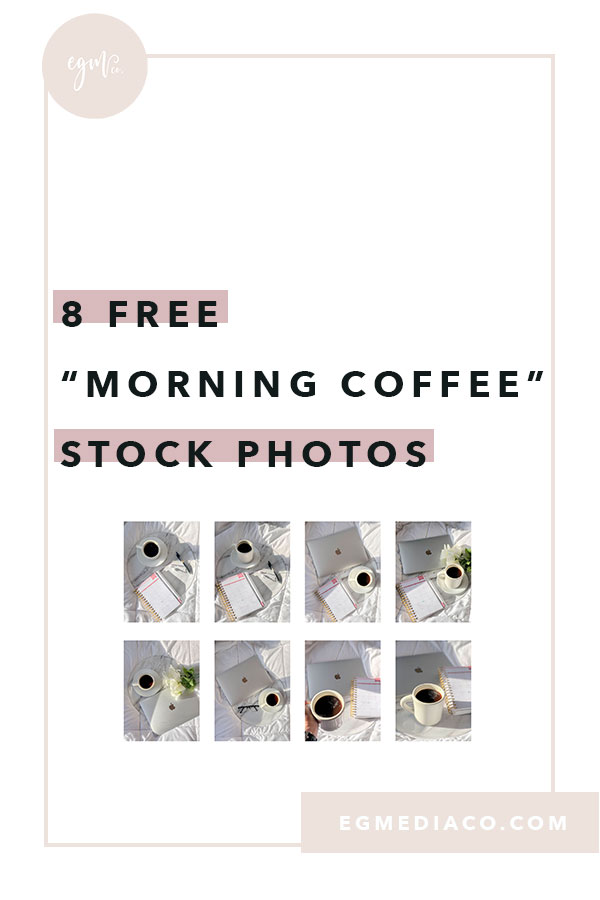 "8 Free ""Morning Coffee"" stock photos by EG Media Co | Free stock photos, beautiful flatlays, feminine stock photos, stationary stock photos, flatlay of the day, flatlays, styled shoot, flatlay love, women entrepreneur, flatlay styling, creativity styling, community over competition"