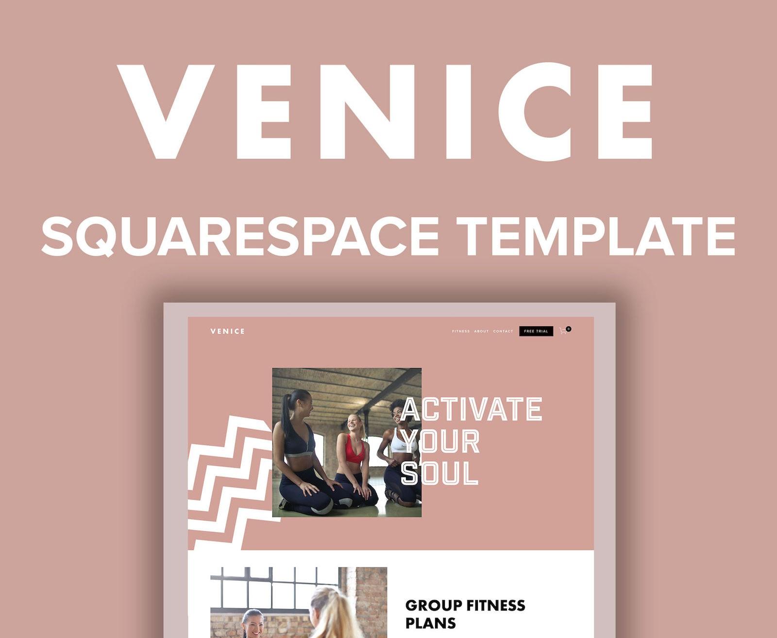 Venice Squarespace Template