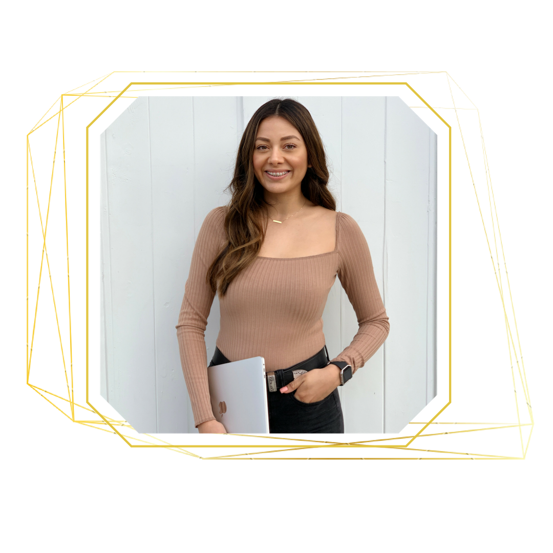 Erika Gutierrez owner of Launch with Erika | Boss Women Entrepreneurs | Website Design | Custom Web Design | Squarespace Design | Online Credibility | Squarespace expert | Custom Website | Health Coaches | Wellness Coach | Boss Lady Entrepreneur