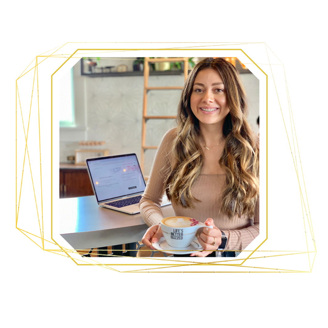 Erika Gutierrez owner of Launch with Erika | Boss Women Entrepreneurs | Website Design | Custom Web Design | Squarespace Design | Online Credibility | Squarespace expert | Custom Website | Health Coaches | Wellness Coach | Boss Lady Entrepreneur | Business Coach | Success Coach