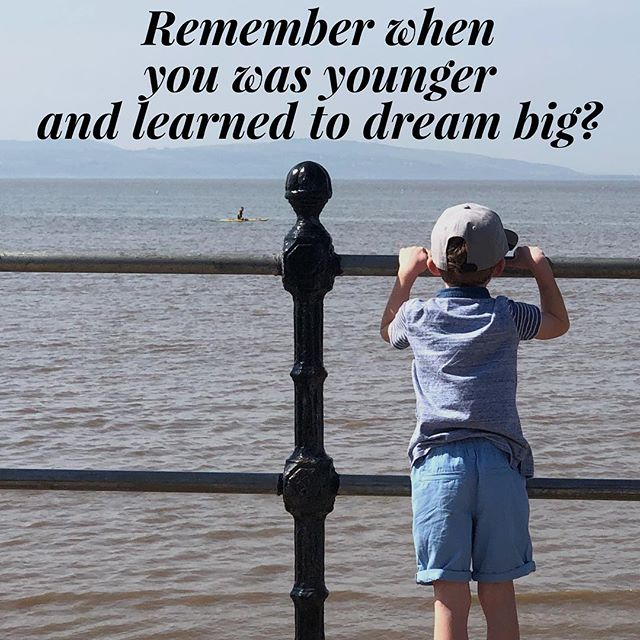 NEVER give up on your dreams! - Those happy memories are to be treasured and ambitiously gained for in life. - YOU CAN DO IT! - #lifegoals #dreams #childhooddream #childhoodmemories #dreambig #ambition #entrepreneur #entrepreneurlife #health #dreamjob #hypnotherapy #entrepreneurship