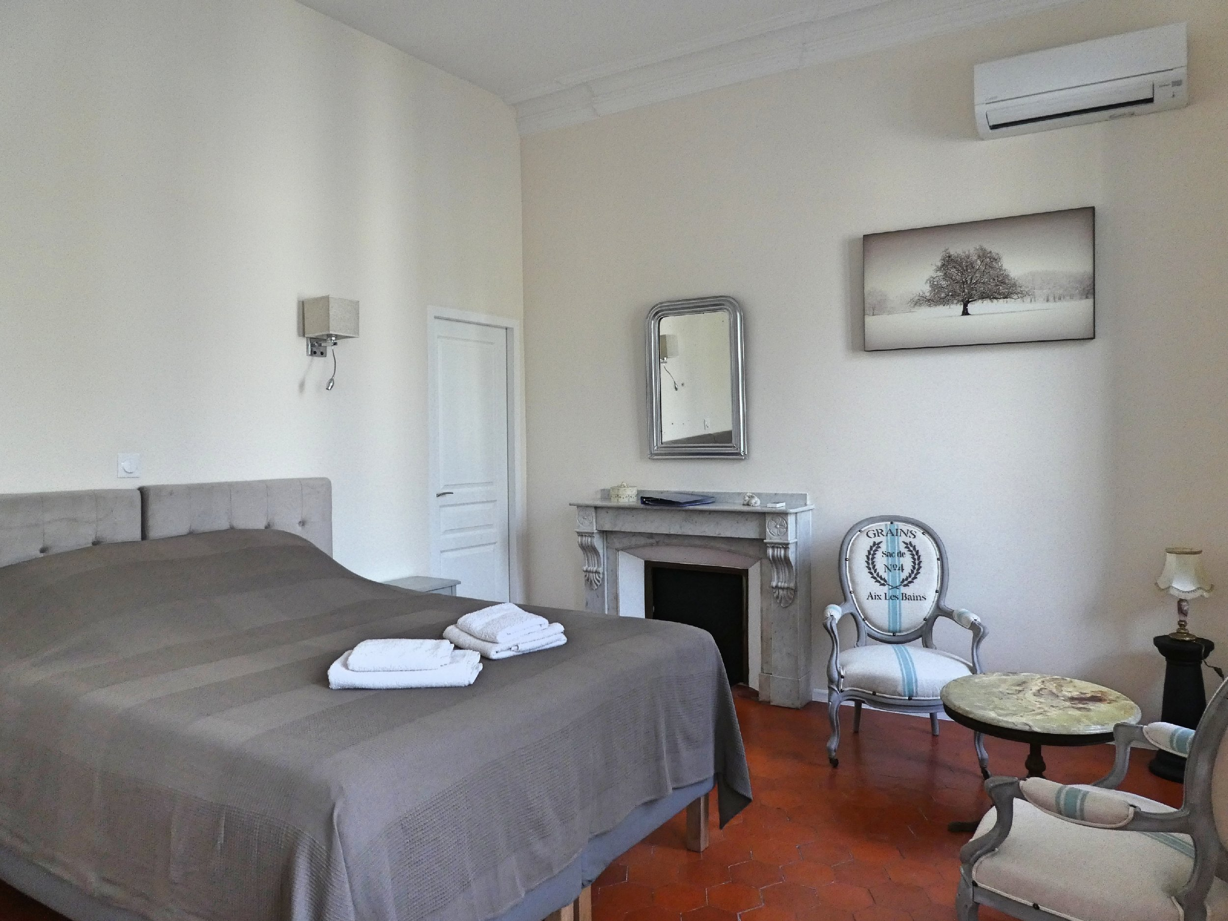 Large and spacious B&B rooms in the house