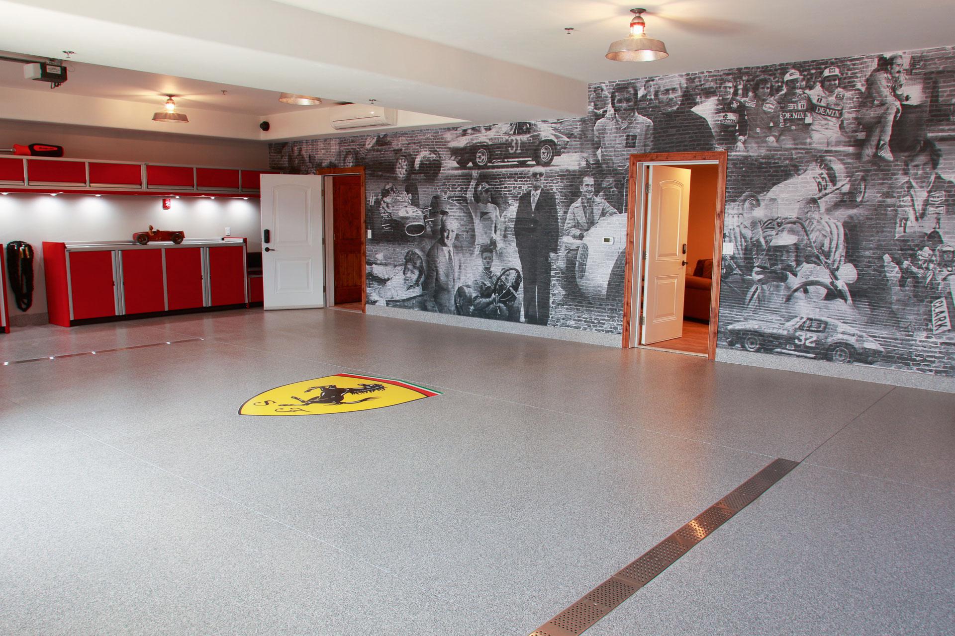Modena + Maranello  Garage + Entertainment Space