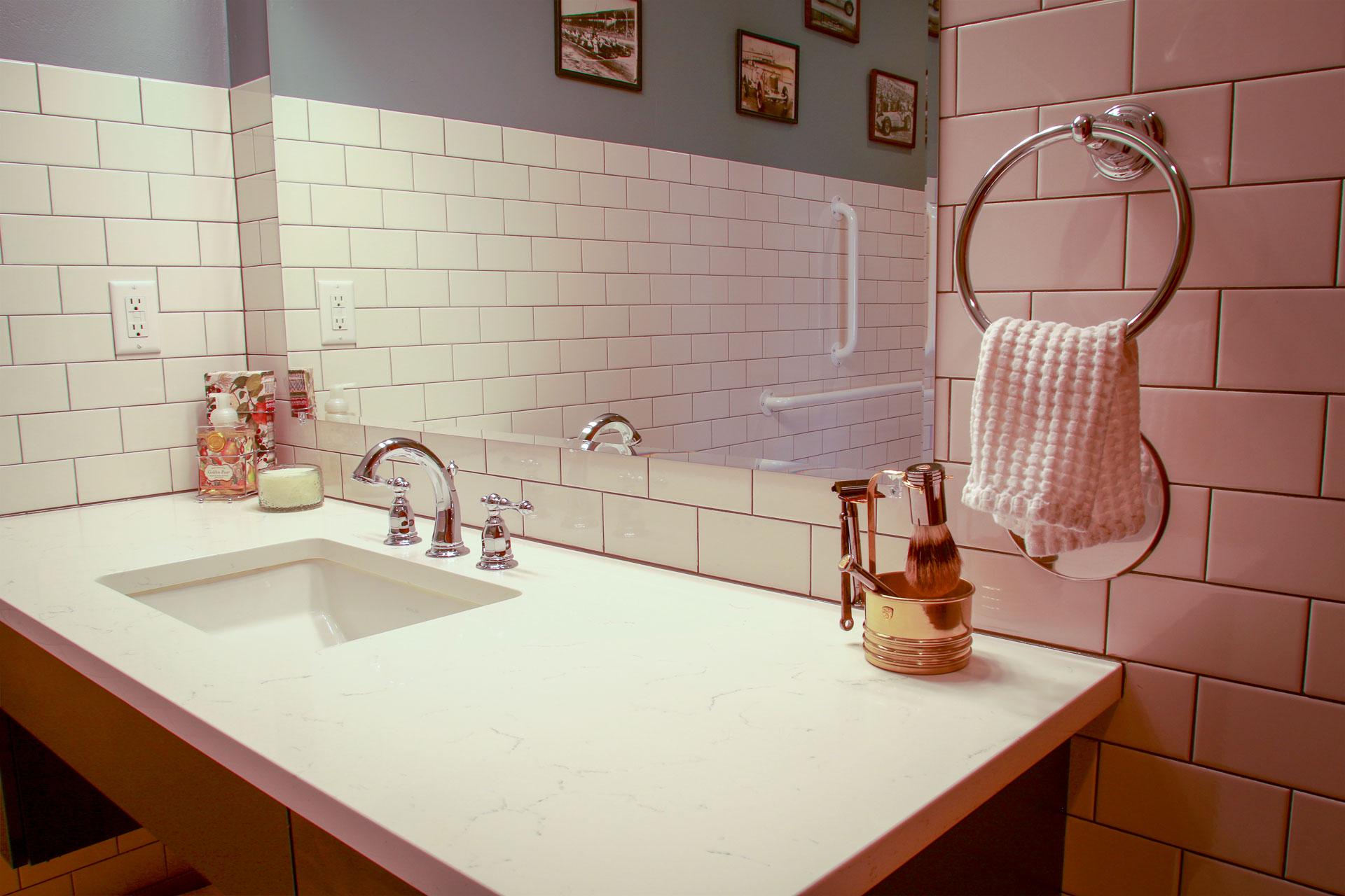 Modena   A Washroom's Simplistic Elegance