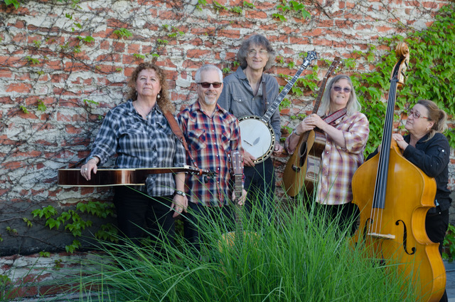 Harlan James Bluegrass Band - Traditional Music & SongBerkeley Hat Company, 2510 Telegraph 1:30 - 2:00 pm & 2:30 - 4 pmThe Harlan James Bluegrass Band deliver the back-country music which folks have played on their porches for generations. What sets this band apart is that they are all singers obsessed with bluegrass singing styles - the classic tight-stacked trio, the full-bodied gospel quartet, & the high-lonesome duet, complete with a keening tenor. They find inspiration in down-to-earth melodies and the drive, and tension of bluegrass sound. You'll hear richly textured melodies from award winning song-writer Maureen (Mo) Blumenthal (banjo, guitar), Linda Juratovac (resophonic guitar), Jacob Ofman (guitar), Michael Thilgen (banjo) and Kelly Trojan (upright bass).