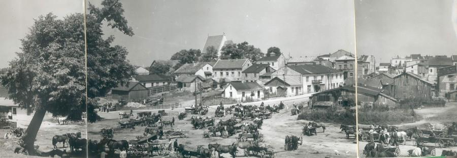 The town of Stopnica, Poland, the hometown of members of the Stopnitzer  landsmanshaft.