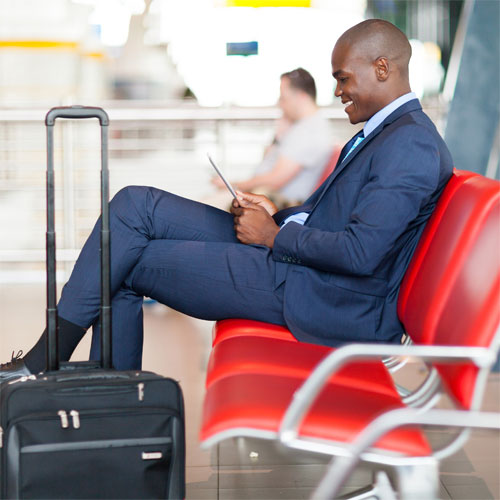 BUSINESS   With nearly 300 million business travelers and upwards of 70 million expatriates traveling and living outside their home countries, someone is bound to get sick somewhere. Give them the power of information in the palm of their hands to improve efficiency on the job and off.