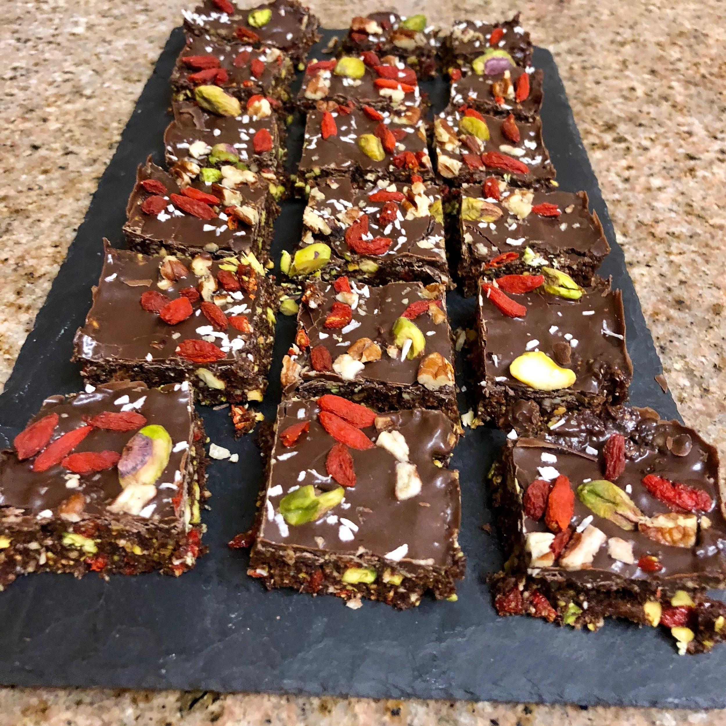 No Bake Superfood Bars