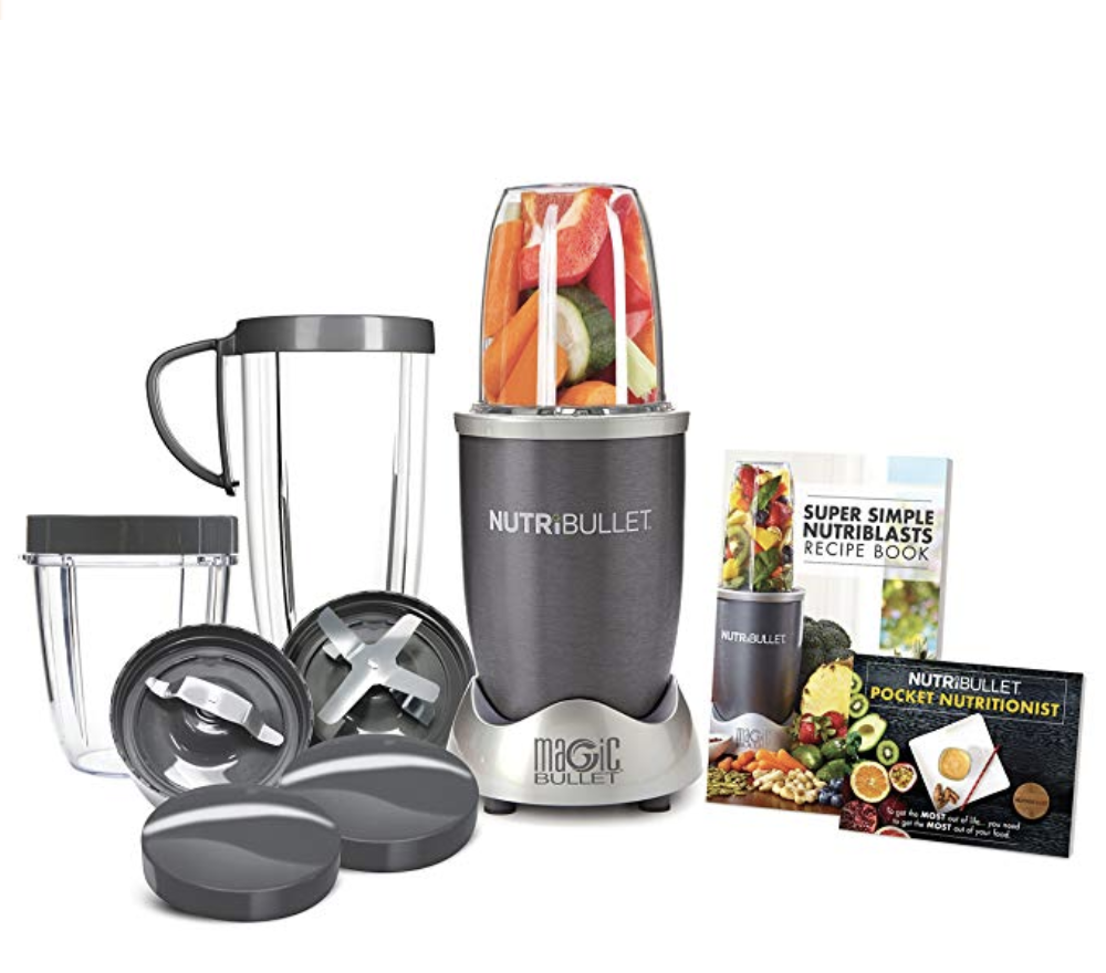 NutriBullet Blender    Another product I truly use every single day. So simple to make smoothies and also use it to make Four Sigmatic elixirs and lattes. Clean up is fast and easy!