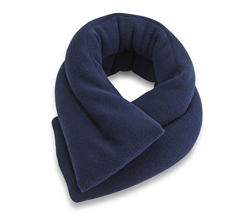 Extra Long Heated Neck Wrap     I love this neck wrap. Similarly to my ice pack situation, I have tried  many . This one is great at getting right up at the top of your neck and the base of your skull.