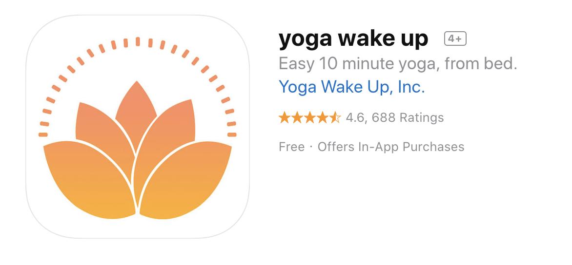 Yoga Wake Up App , Audio Guided Short Yoga Classes