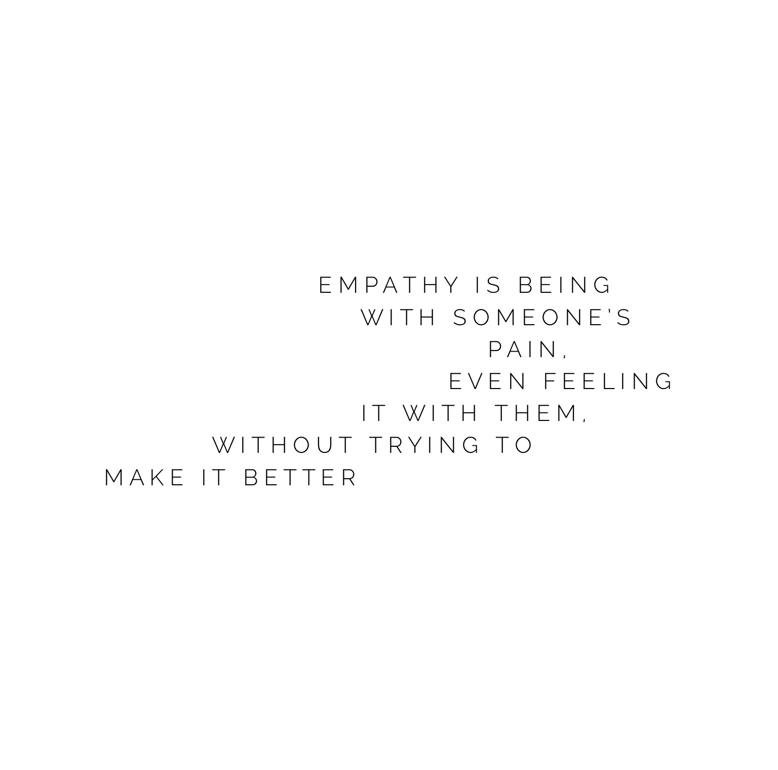 Grateful for those who listen with empathy 🙏