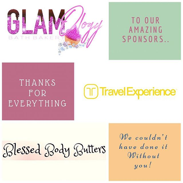"#TBBTAnnouncements Special thanks to our sponsors! We appreciate your support as such! Everything from yummy body care goodness to luxury transportation was top notch! 👌🏾Please connect with these businesses below or by visiting the newly-added ""Sponsors"" page of our website! @glamologybathbakery  @blessed_body_butters  @travelexpla  #TBBTsponsors #mothersdaytour #followblack #blackownedbusinesses"