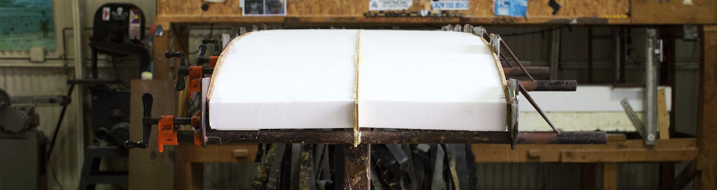 FCD Surfboards_Blank Construction_Foam_Tee Smith.jpg