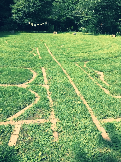 The Labyrinth is often a symbol of the journey of an Initiate.