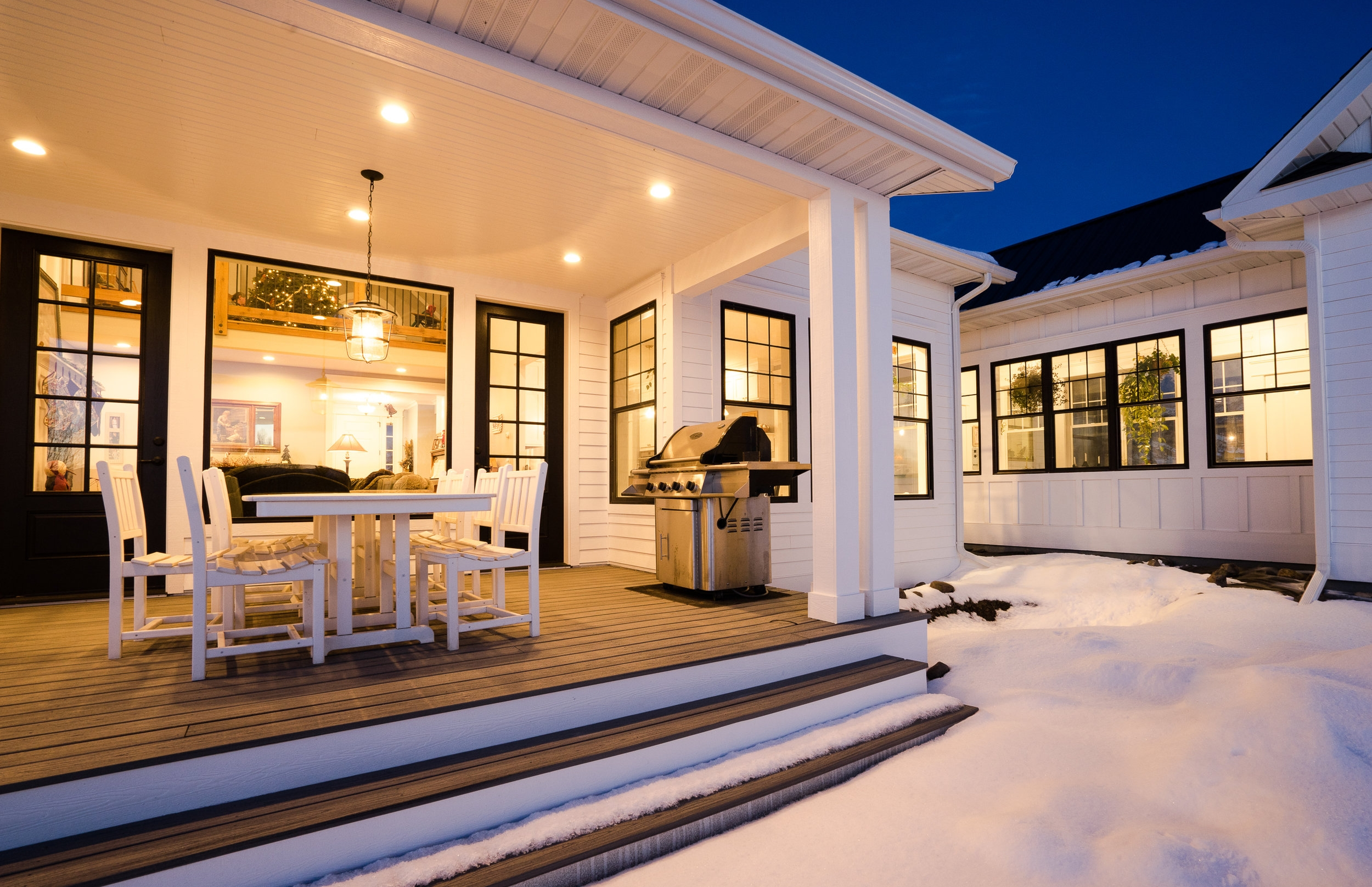 Build your dream home - residence with expansive covered rear porch