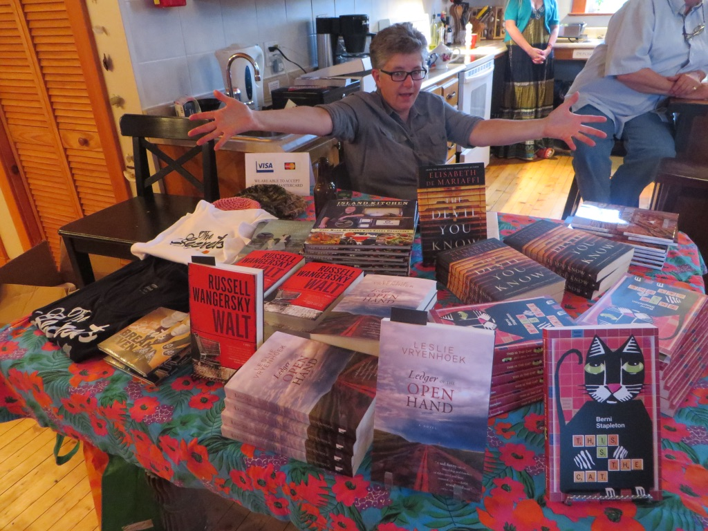 Peg sells books.jpg