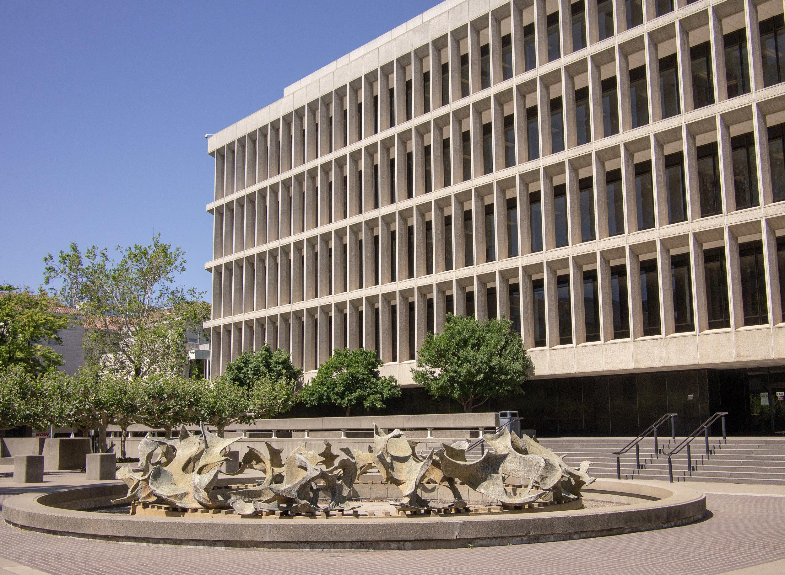 Gordon D. Schaber Sacramento County Courthouse - built 1965