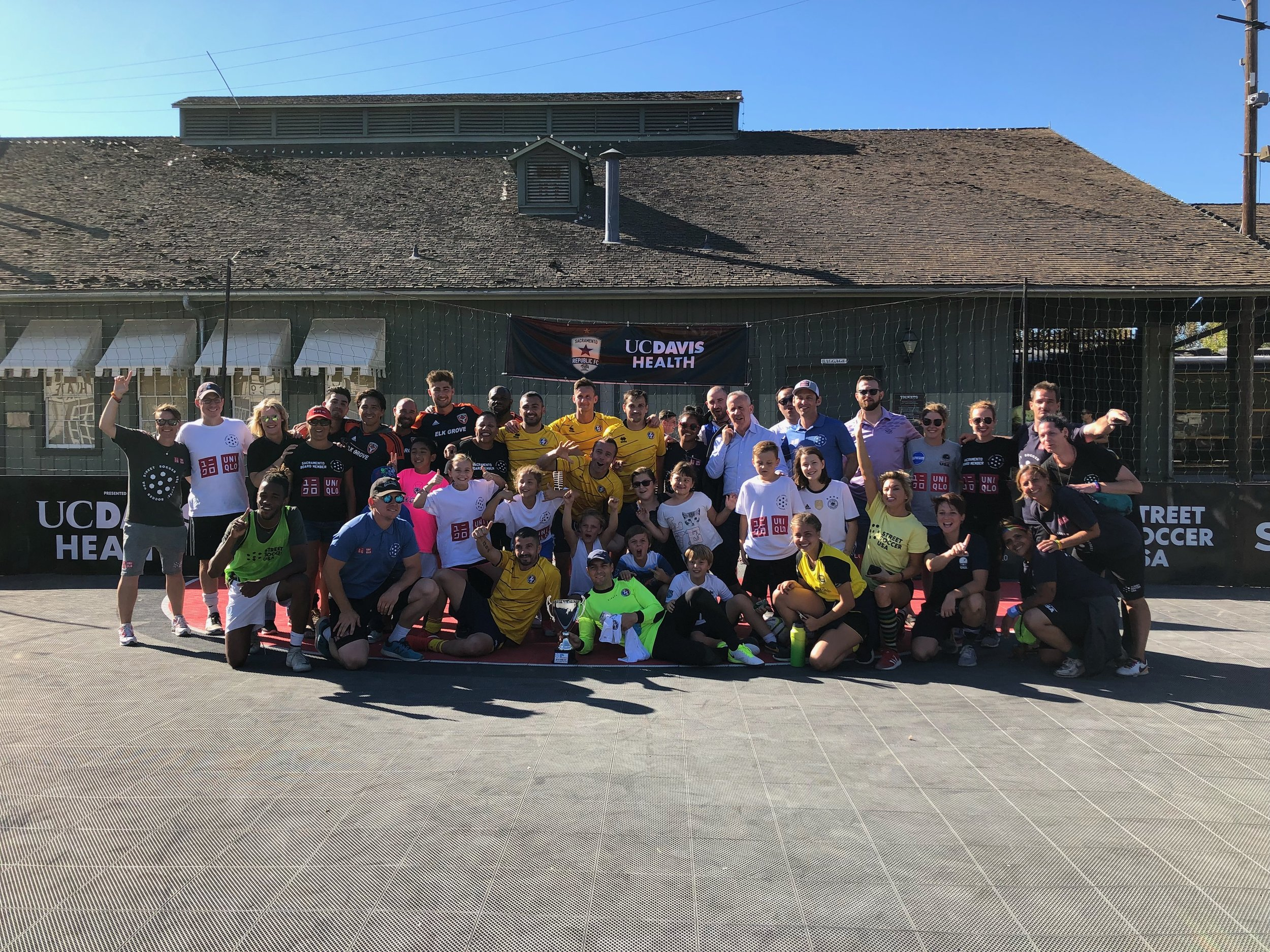 Sacramento Homeless World Cup