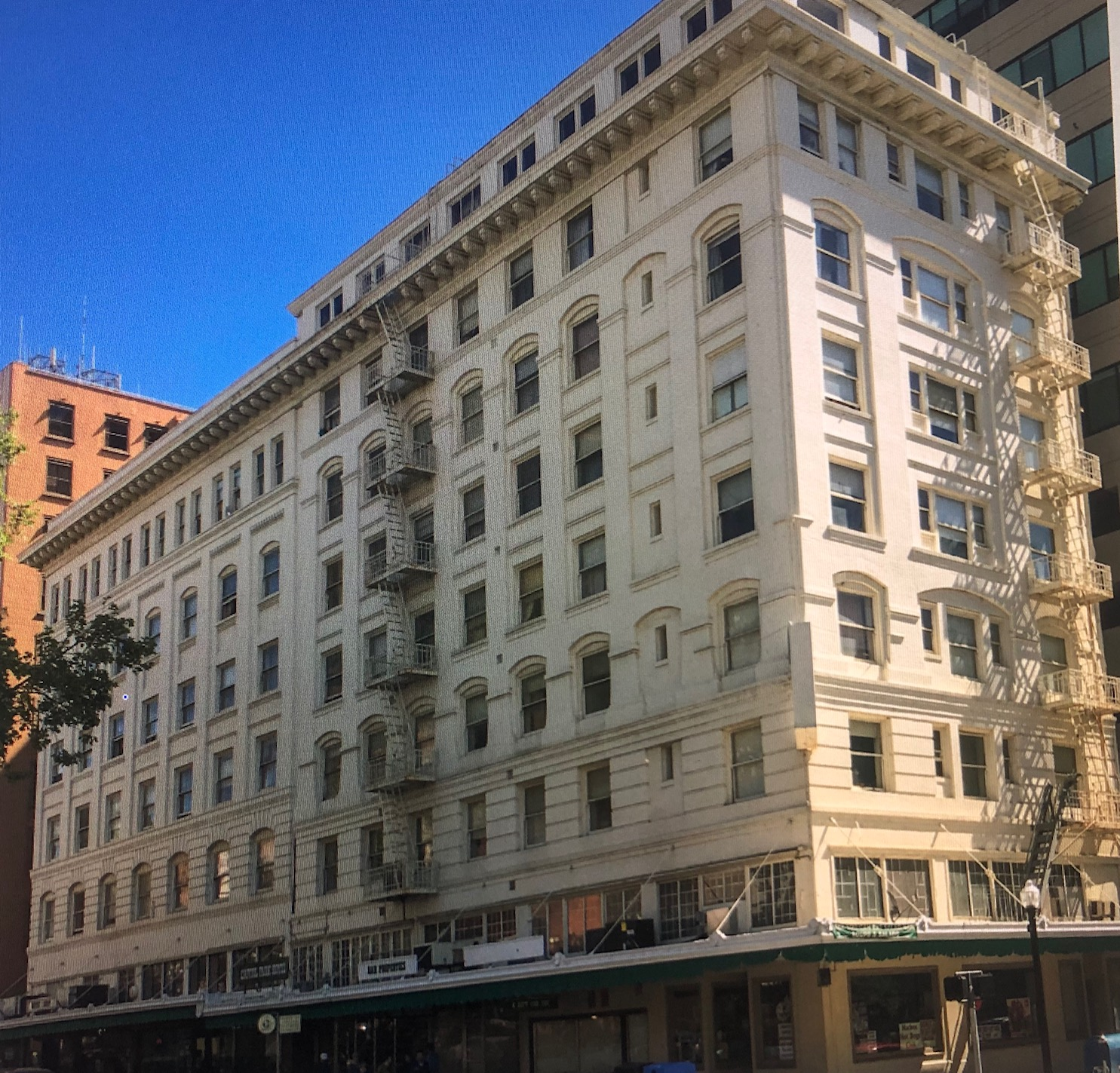 Capitol Park Hotel will be used as a homeless shelter until it is converted into permanent supportive housing.