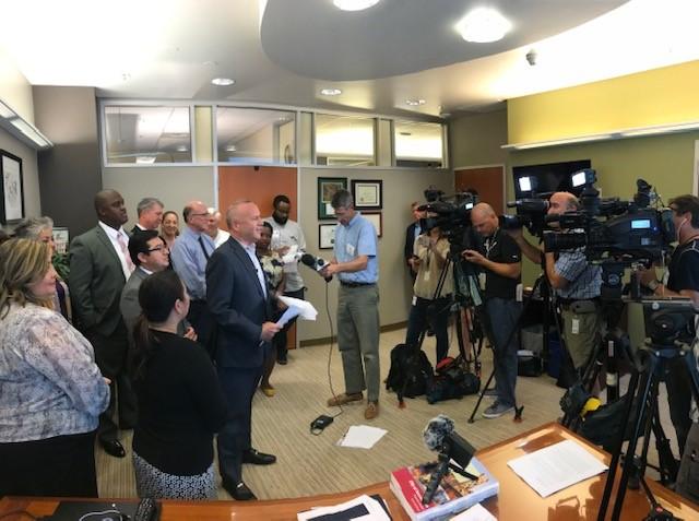 Mayor Steinberg announces his budget priorities