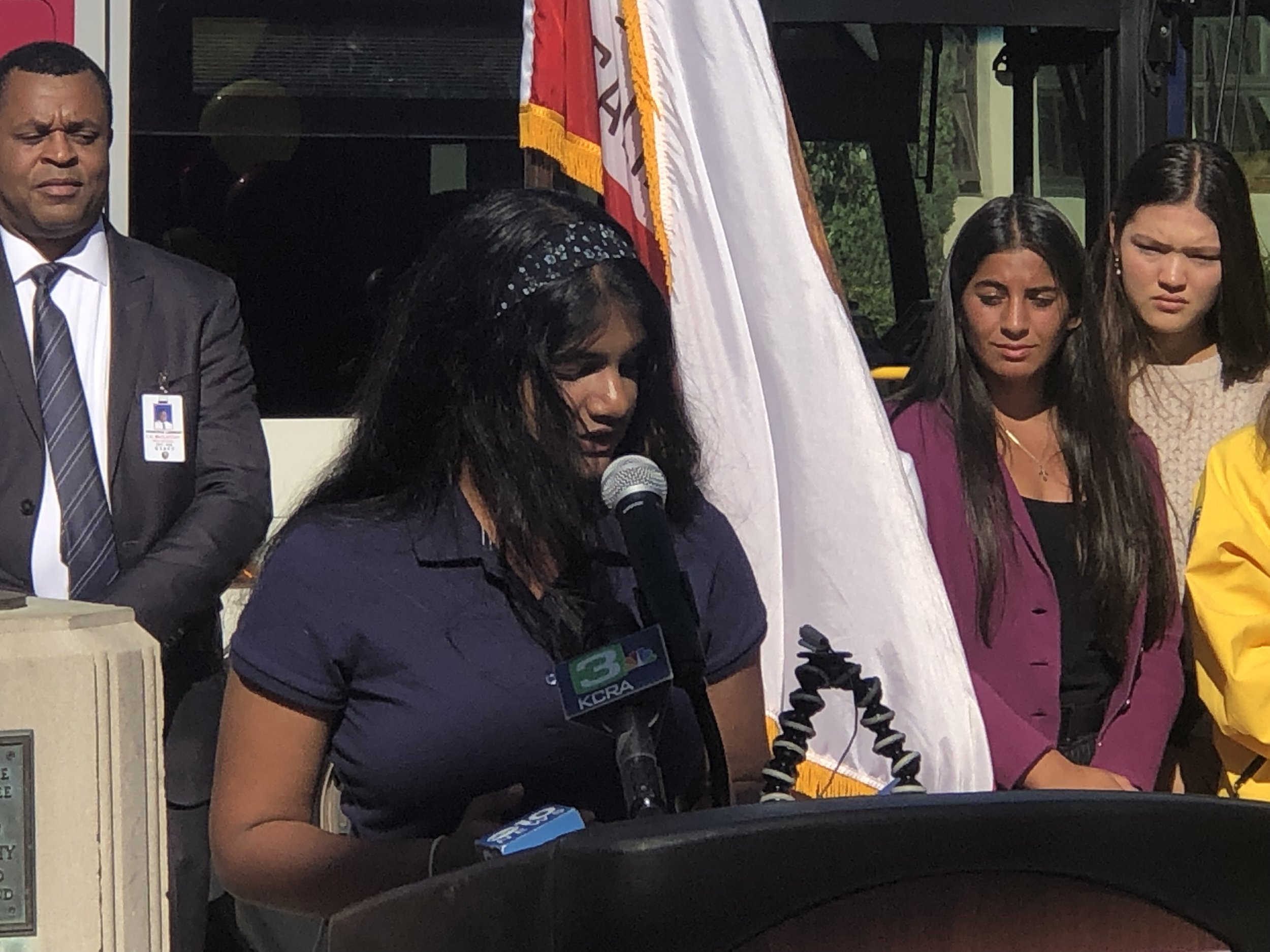 Shanthoshi Thamilseran, 15, said she has used RT to get all over town without asking her parents for rides.