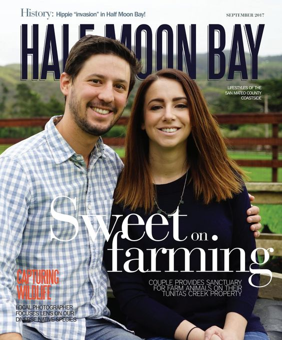 HALF MOON BAY MAGAZINE   Couple finds spot for conscientious farming in Half Moon Bay