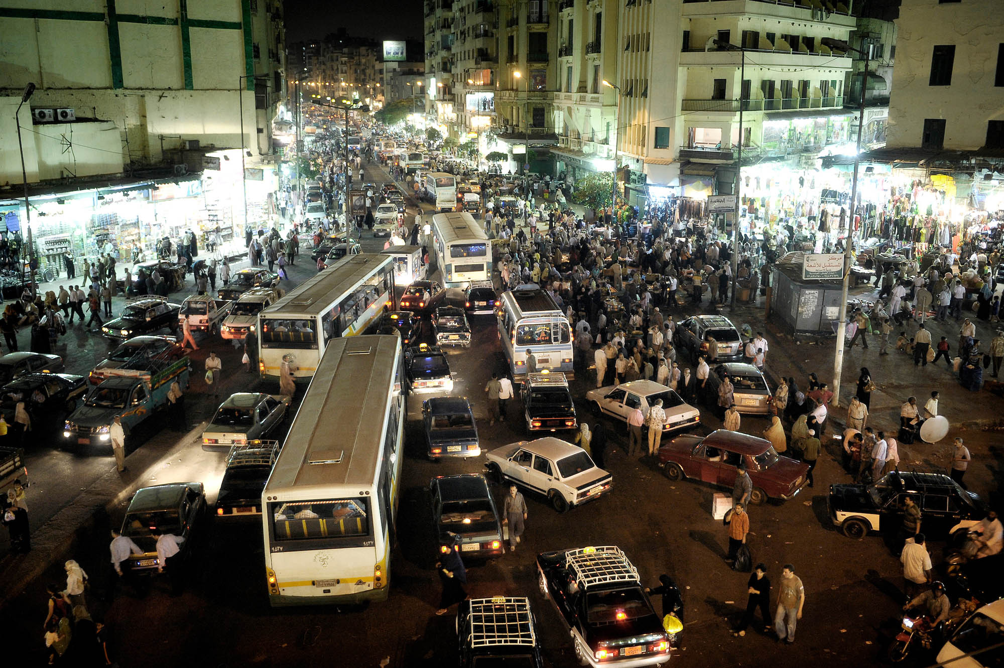 Traffic in Cairo
