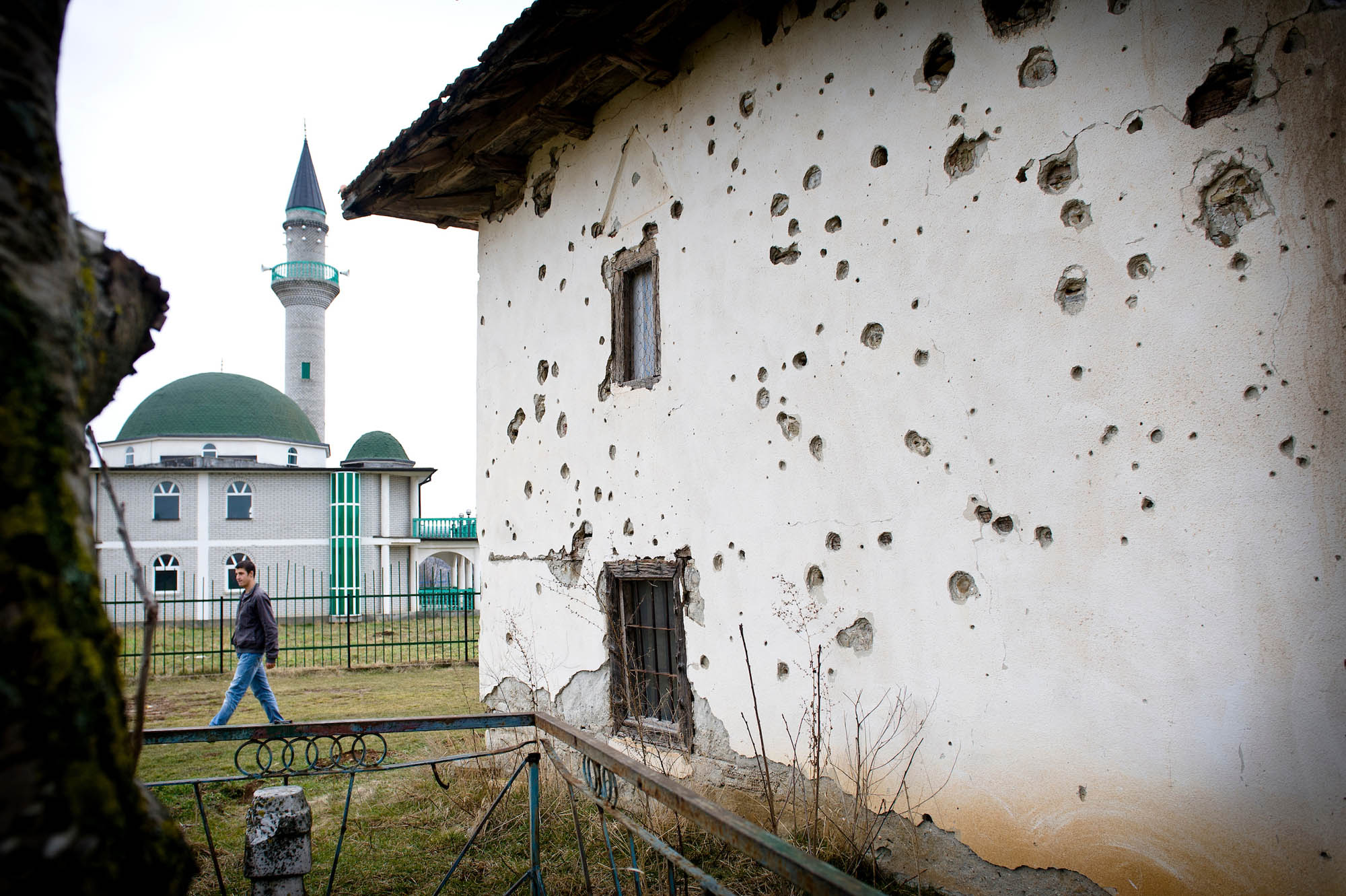 Ruins of Broja mosque, Kosovo