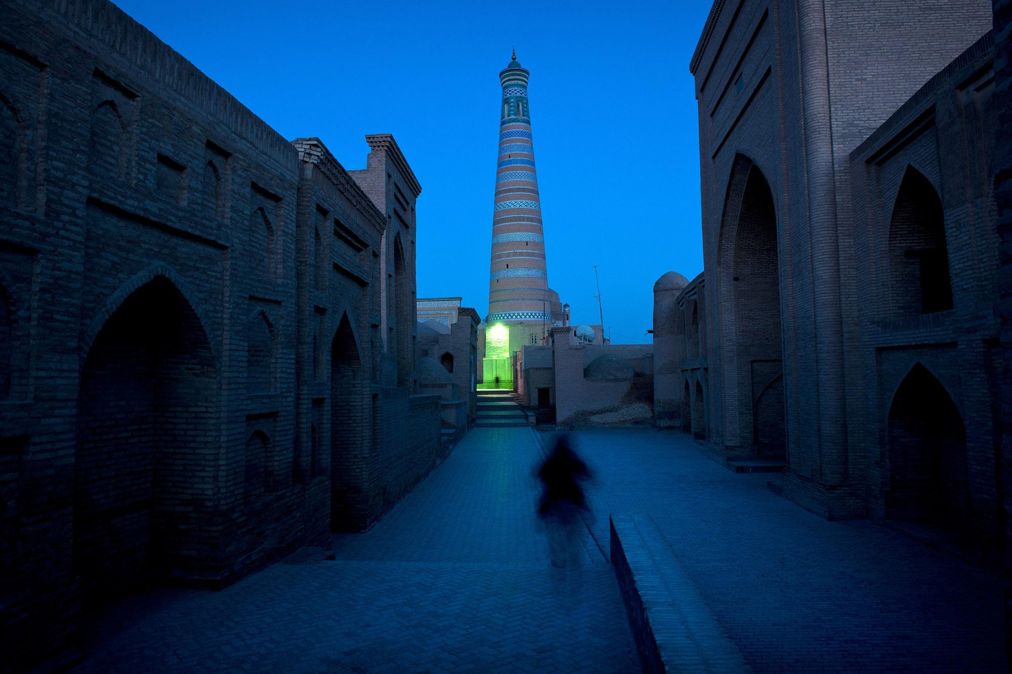 Islam Kodja Minaret, Khiva, Uzbekistan