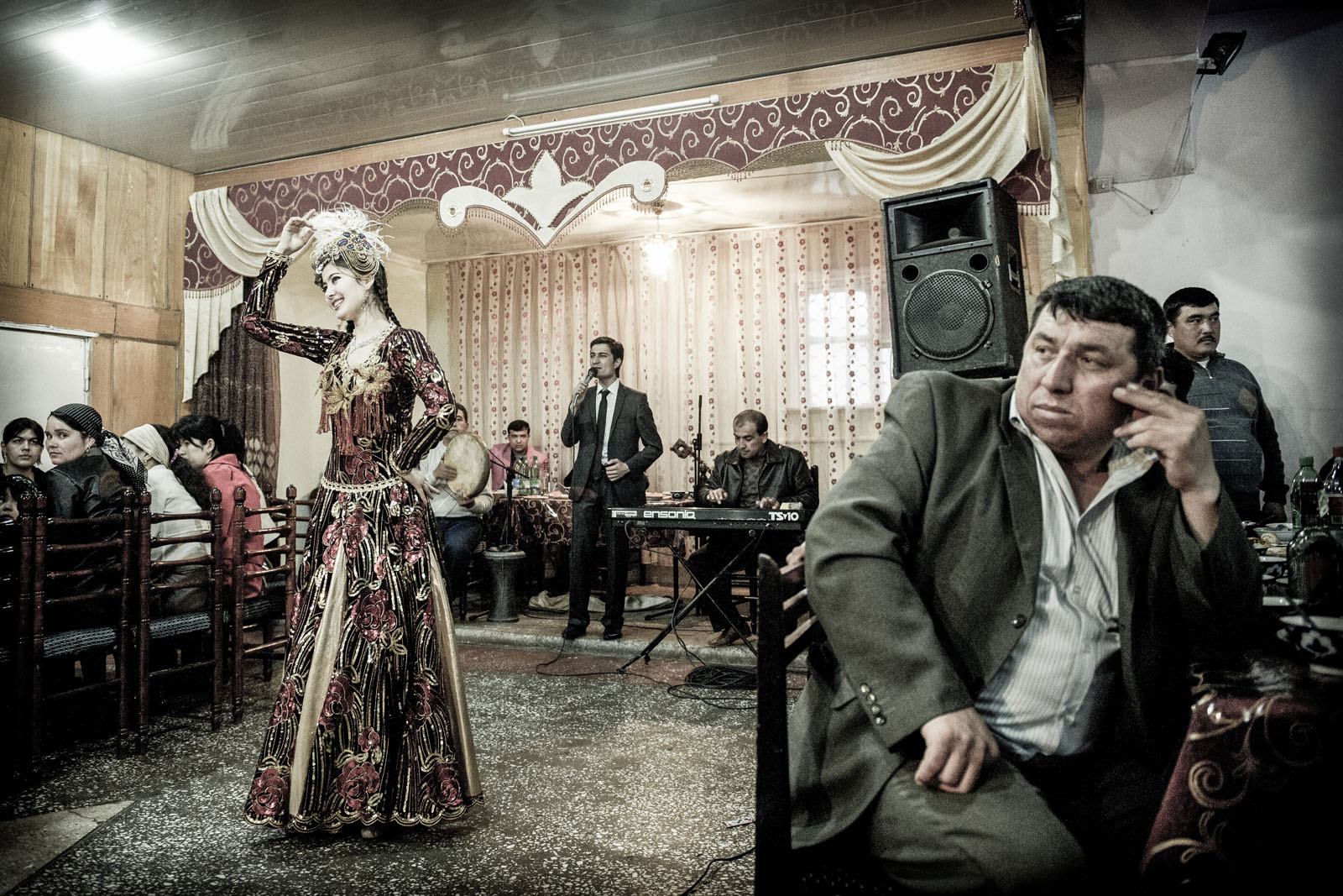 Fiesta de casamiento en Jiva. Foto © Ezequiel Scagnetti.